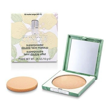 Clinique Superpowder - No. 02 Matte Beige; Premium price due to scarcity