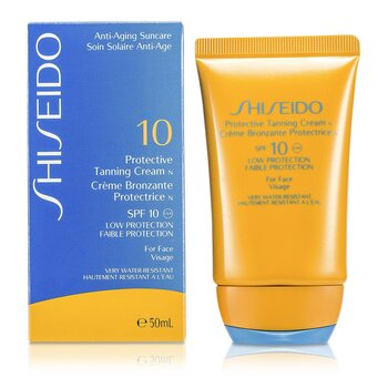 Shiseido Protective Tanning Cream N SPF 10 (For Face)