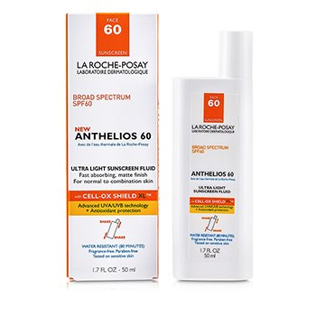 La Roche Posay Anthelios 60 Ultra Light Sunscreen Fluid (Normal/ Combination Skin)