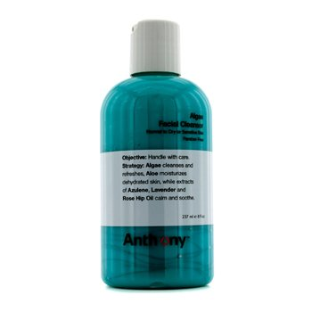 Anthony Logistics For Men Algae Facial Cleanser (Normal To Dry Skin)