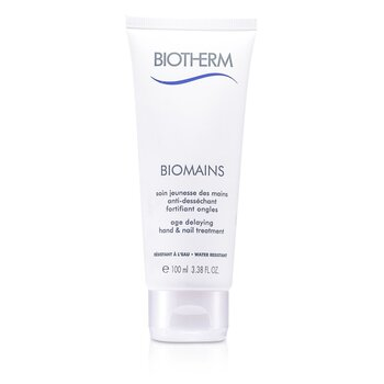 Biotherm Biomains Age Delaying Hand & Nail Treatment - Water Resistant