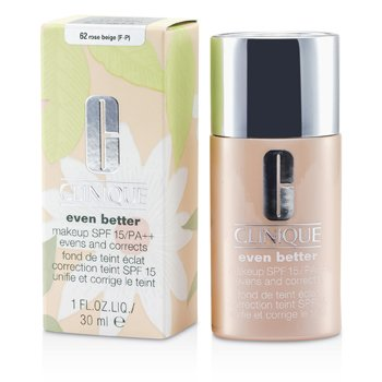 Clinique Even Better Makeup SPF15 (Dry Combination to Combination Oily) - No. 62 Rose Beige