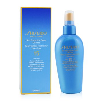 Shiseido Sun Protection Spray Oil Free SPF15