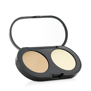 Bobbi Brown New Creamy Concealer Kit - Natural Creamy Concealer + Pale Yellow Sheer Finish Pressed Powder
