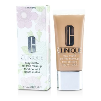 Clinique Stay Matte Oil Free Makeup - # 02 Alabaster (VF-N)