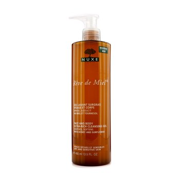 Nuxe Reve De Miel Face & Body Ultra-Rich Cleansing Gel (Dry & Sensitive Skin)