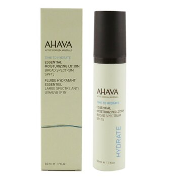 Ahava Time To Hyrdate Essential Moisturizing Lotion SPF 15