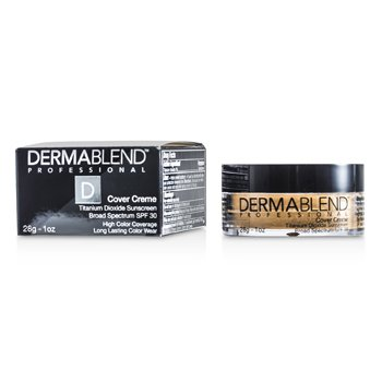 Dermablend Cover Creme Broad Spectrum SPF 30 (High Color Coverage) - Sand Beige
