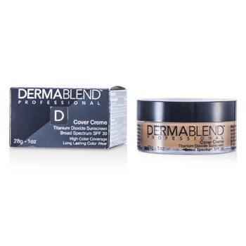 Dermablend Cover Creme Broad Spectrum SPF 30 (High Color Coverage) - Natural Beige