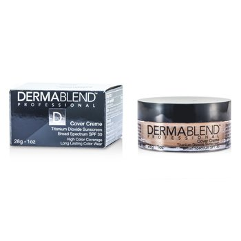 Dermablend Cover Creme Broad Spectrum SPF 30 (High Color Coverage) - Golden Beige