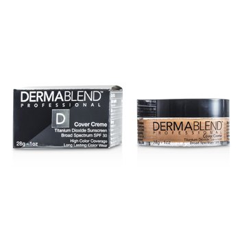 Dermablend Cover Creme Broad Spectrum SPF 30 (High Color Coverage) - Honey Beige
