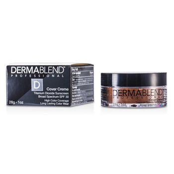 Dermablend Cover Creme Broad Spectrum SPF 30 (High Color Coverage) - Golden Bronze