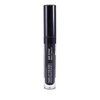 Make Up For Ever Lab Shine Metal Collection Chrome Lip Gloss - #M0 (Onyx) (Unboxed)