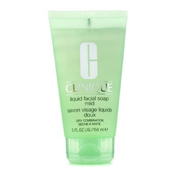 Clinique Liquid Facial Soap Tube Mild (Dry Combination)