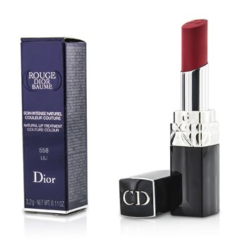 Christian Dior Rouge Dior Baume Natural Lip Treatment Couture Colour - # 558 Lili