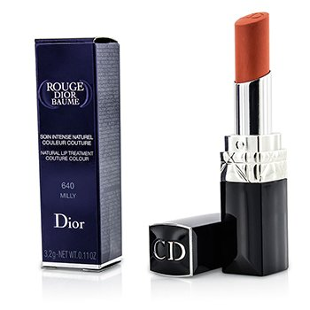 Christian Dior Rouge Dior Baume Natural Lip Treatment Couture Colour - # 640 Milly