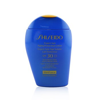 Shiseido Expert Sun Aging Protection Lotion WetForce For Face & Body SPF 30