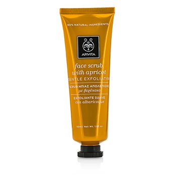 Apivita Face Scrub with Apricot - Gentle Exfoliating