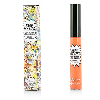 TheBalm Read My Lips (Lip Gloss Infused With Ginseng) - #Pop!