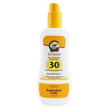 Australian Gold Spray Gel Sunscreen Broad Spectrum SPF 30