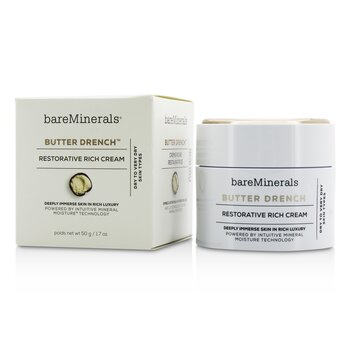 BareMinerals Butter Drench Restorative Rich Cream - Dry To Very Dry Skin Types