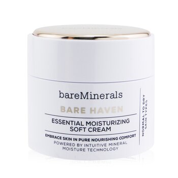 BareMinerals Bare Haven Essential Moisturizing Soft Cream - Normal To Dry Skin Types