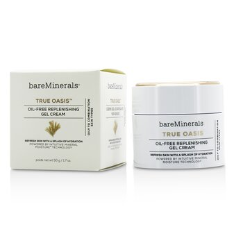 BareMinerals True Oasis Oil-Free Replenishing Gel Cream - Oily To Combination Types