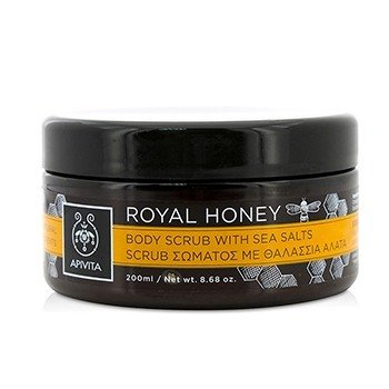 Apivita Royal Honey Body Scrub With Sea Salts