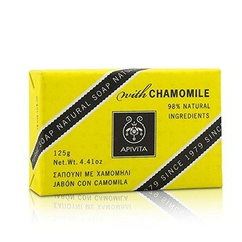 Apivita Natural Soap With Chamomile