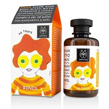 Apivita Kids Hair & Body Wash With Tangerine & Honey