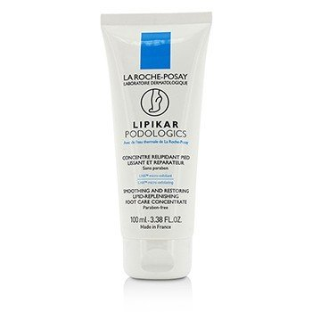 La Roche Posay Lipikar Podologics Smoothing And Restoring Lipid-Replenishing Foot Care Concentrate