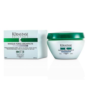 Resistance Force Architecte Strengthening Masque (For Brittle, Very Damaged Hair, Split Ends)
