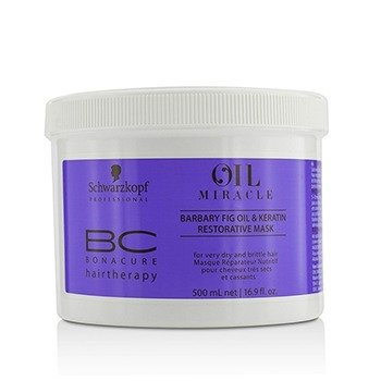 Schwarzkopf BC Bonacure Oil Miracle Barbary Fig Oil & Keratin Restorative Mask (For Very Dry and Brittle Hair)