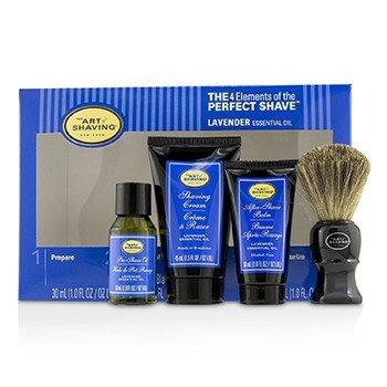 The Art Of Shaving The 4 Elements of the Perfect Shave Mid-Size Kit - Lavender