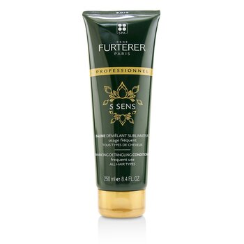 Rene Furterer 5 Sens Enhancing Detangling Conditioner - Frequent Use, All Hair Types (Salon Product)