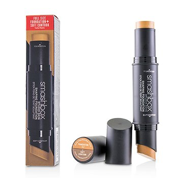 Studio Skin Shaping Foundation + Soft Contour Stick - # 3.2 Cool Medium Beige