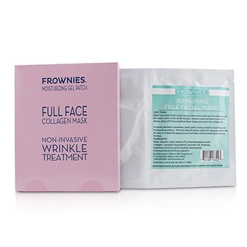Frownies Full Face Collagen Mask - Moisturizing Gel Patch
