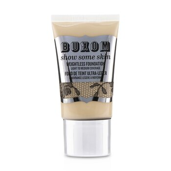 Buxom Show Some Skin Weightless Foundation - # Tickle The Ivory