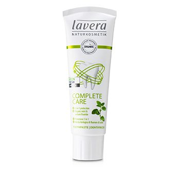Lavera Toothpaste (Complete Care) - With Organic Mint & Sodium Fluoride