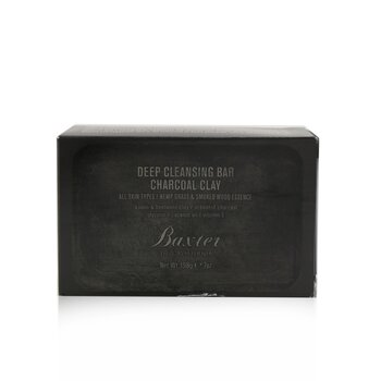 Baxter Of California Deep Cleansing Bar (Charcoal Clay)