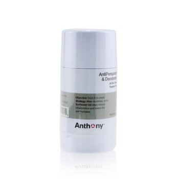 Anthony Antiperspirant & Deodorant - Paraben Free (For All Skin Types)